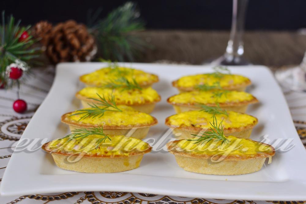 Мини тарталетки с начинкой рецепты