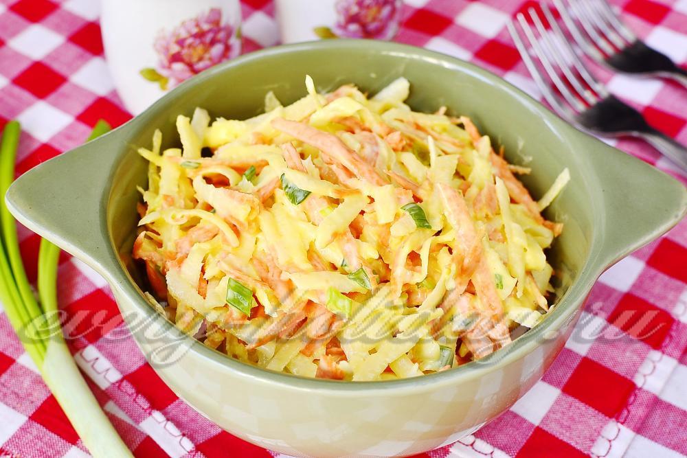 Редька черная рецепты салатов с простые и вкусные
