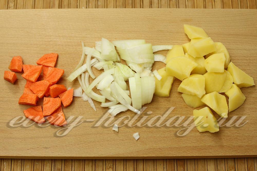 по по-французски картошка с курицей в духовке рецепт с фото пошагово