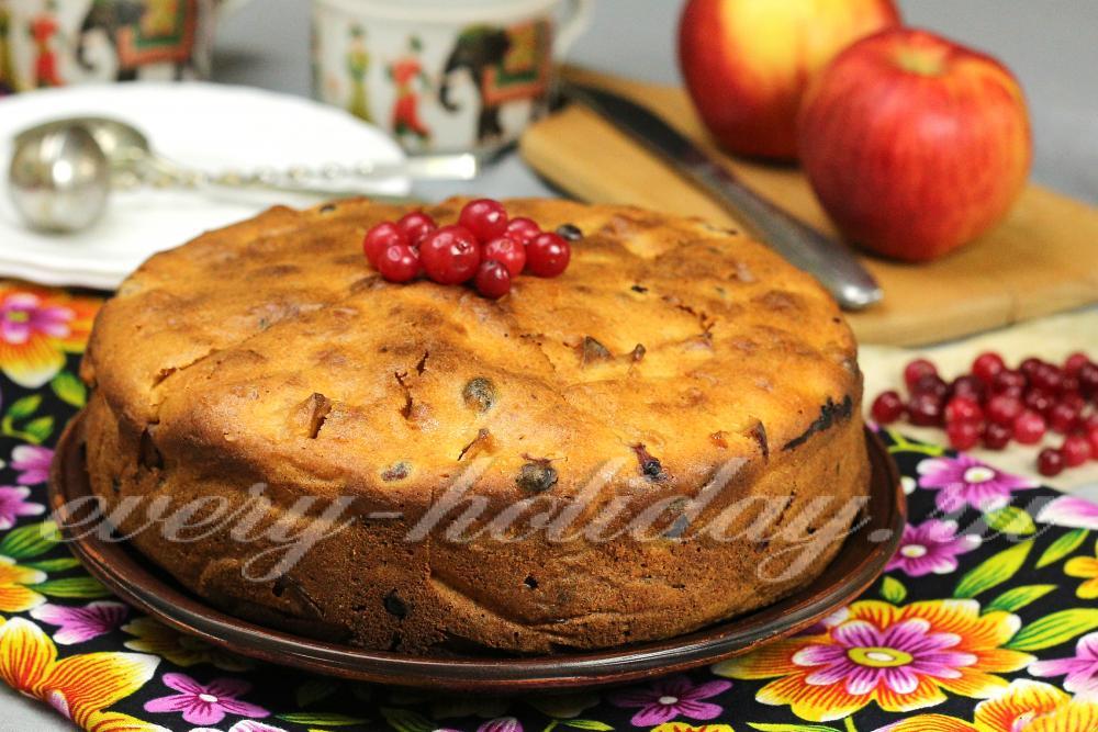 Выпечка на кефире с яблоками в духовке рецепт с фото