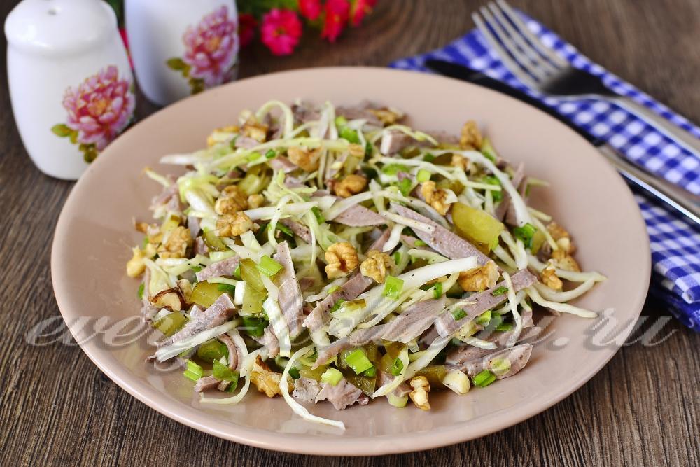 Салат гурман слоеный рецепт
