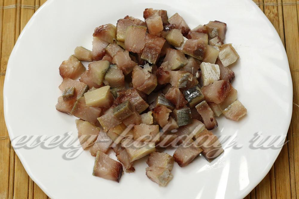 Картошка с селедкой и свеклой рецепт