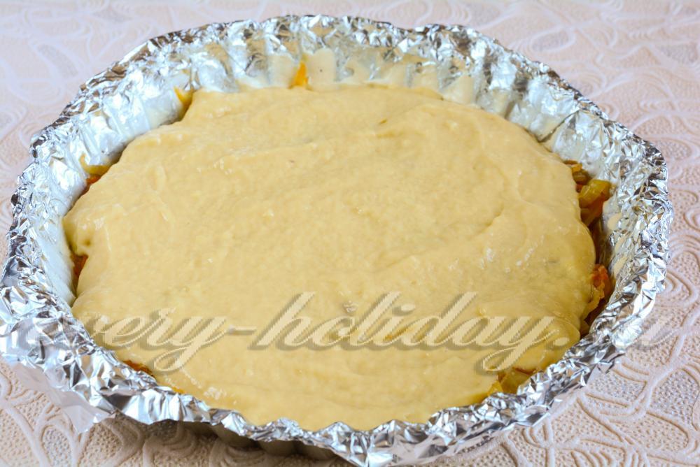рецепт пирога на сгущенке в духовке
