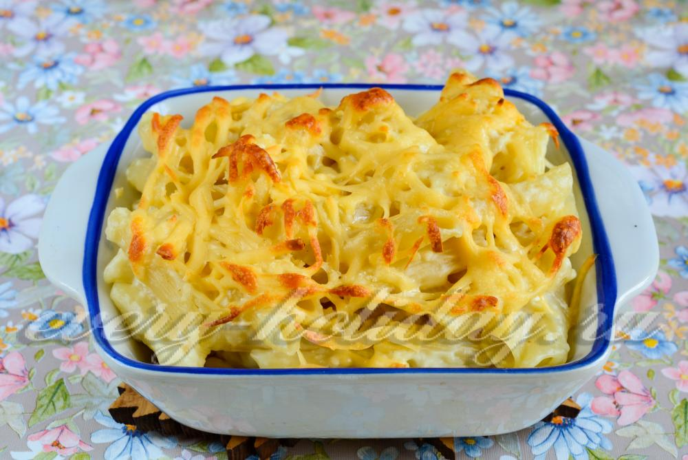 Макароны с сыром американский рецепт с фото