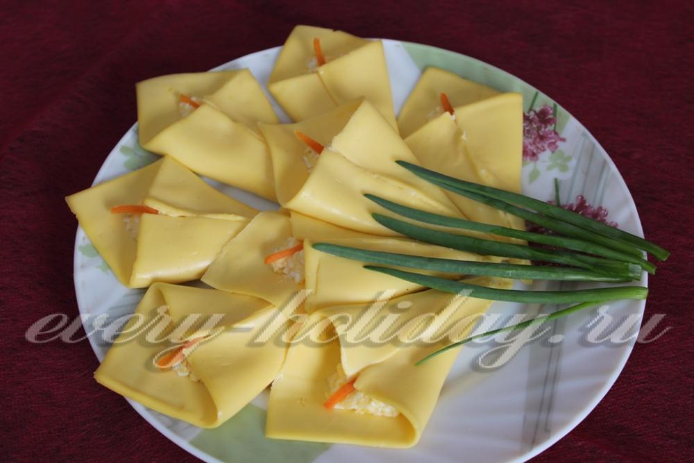 Сырные каллы рецепт