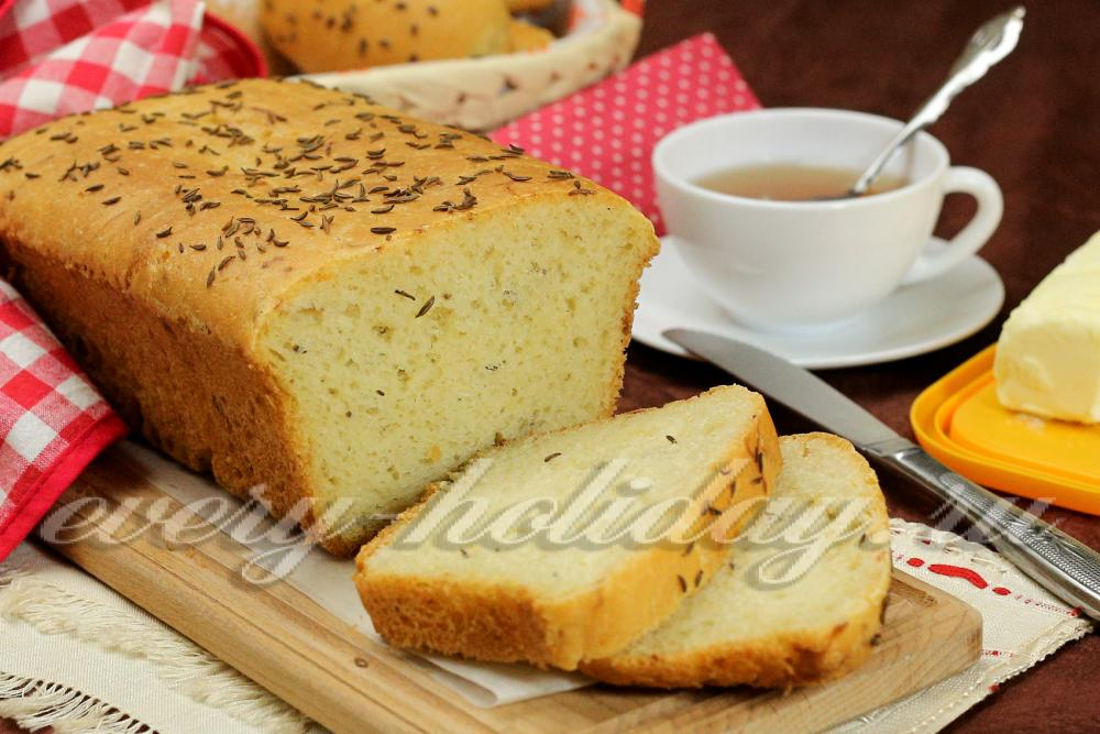 Вкусный хлеб рецепт с фото