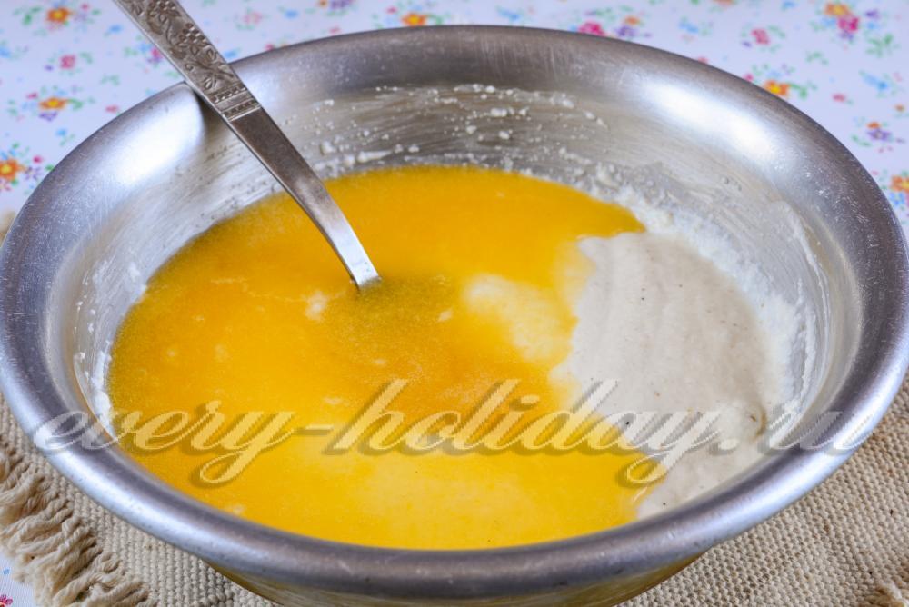 Манник без кефира рецепт с пошагово