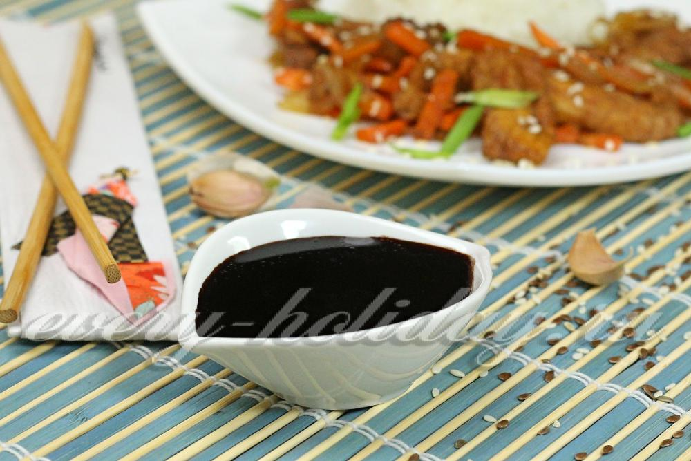 Рецепт соуса для роллов в домашних условиях