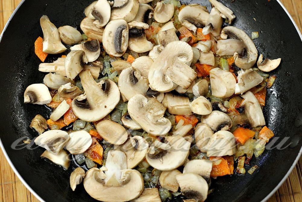Подлива из грибов рецепт с пошагово