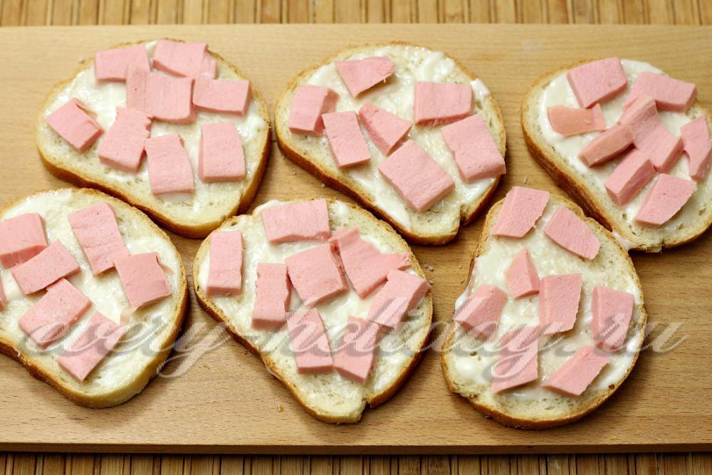 Как сделать бутерброд без колбасы 523