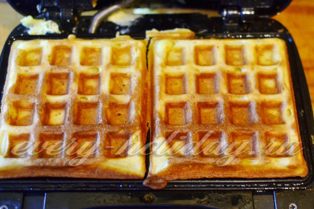 тесто для вафель венских в электровафельнице рецепт с фото