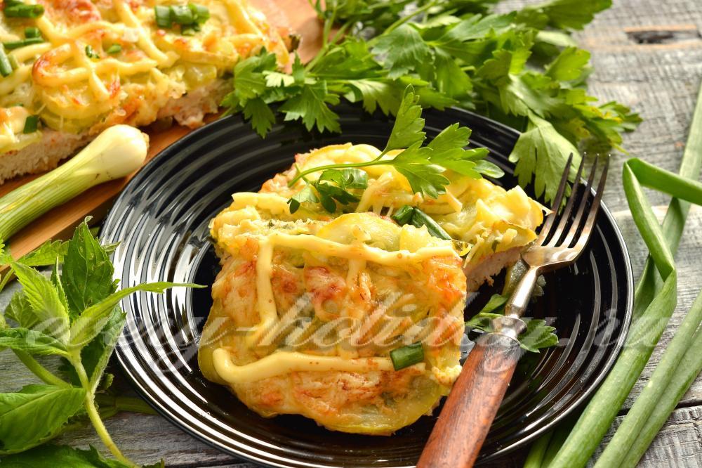 Блюда из кабачков для диабетиков