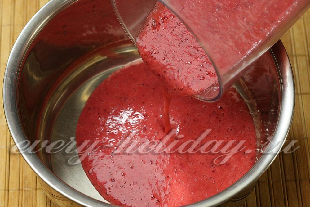 Как сделать желатин с вареньем 731