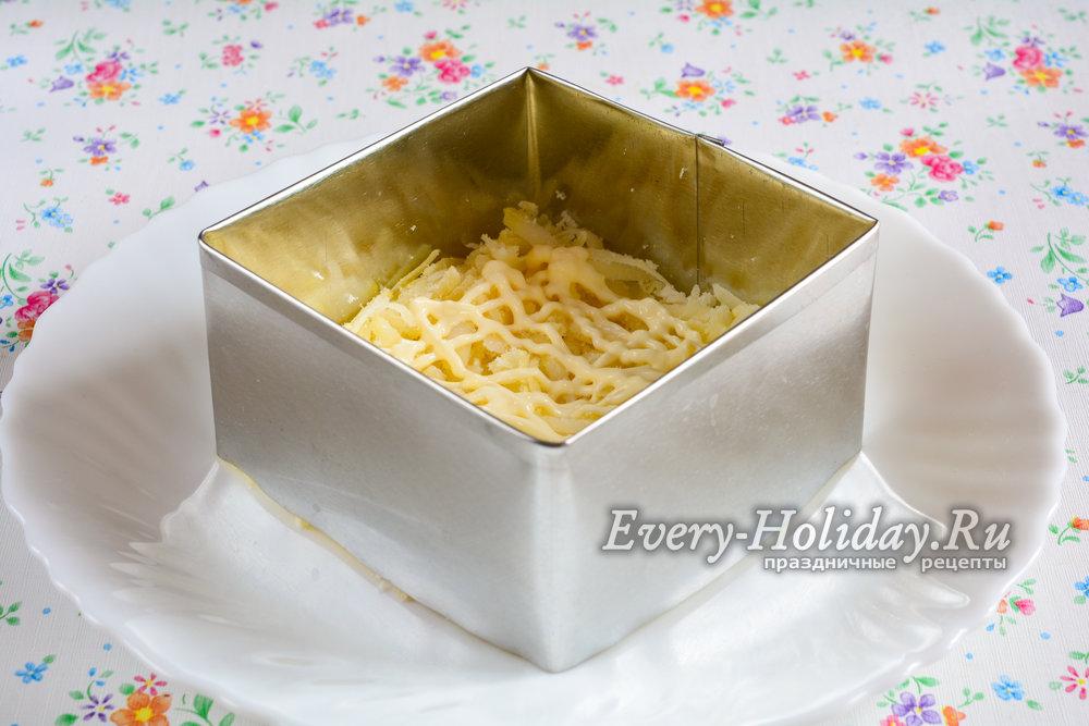 Мимоза с картошкой рецепт классический пошаговый рецепт с фото