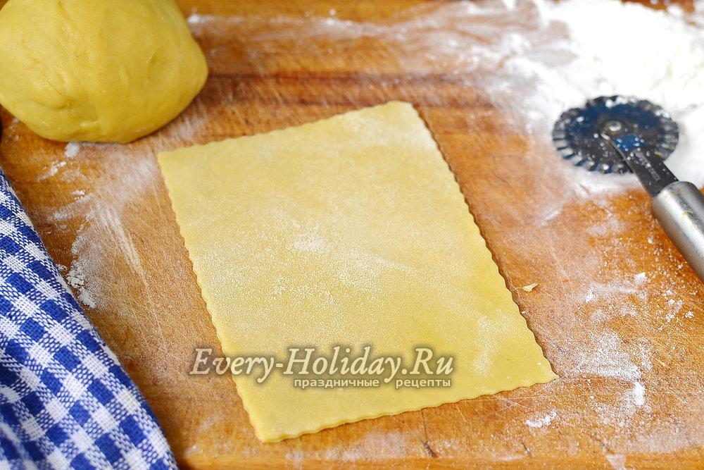 Рецепт для теста для лазаньи в домашних условиях