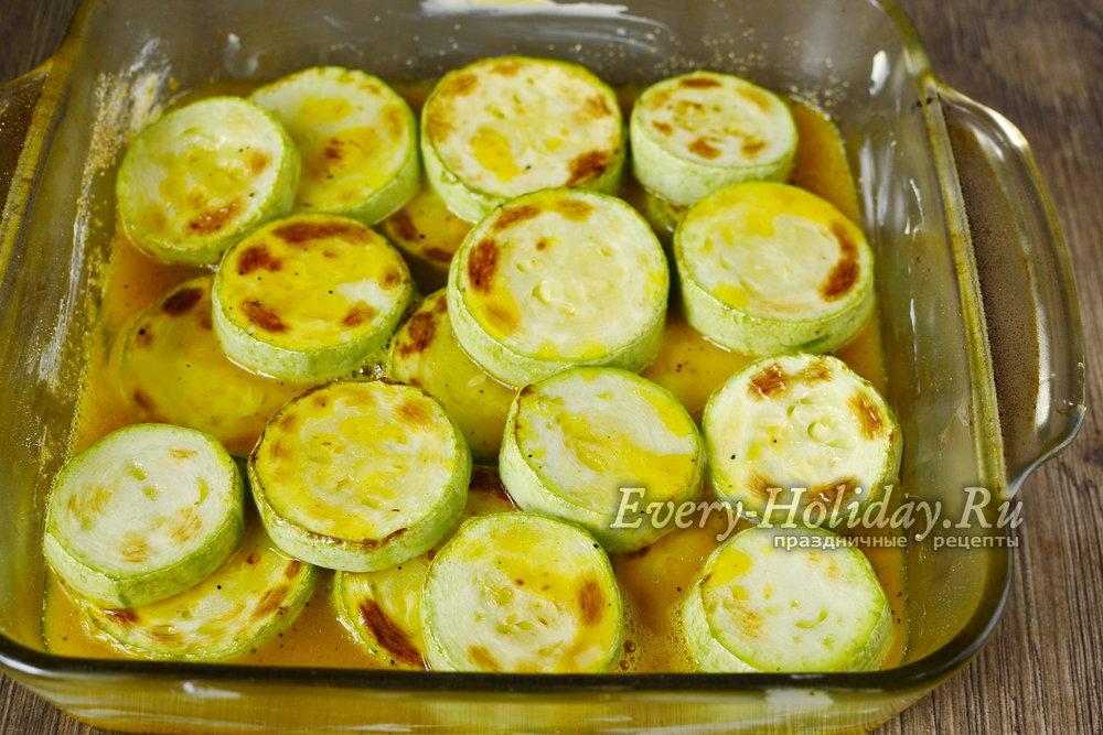 Как сделать кабачки с яйцом