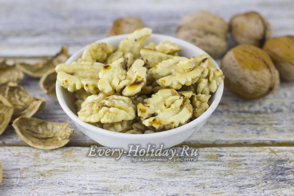 Можно ли жарить грецкие орехи