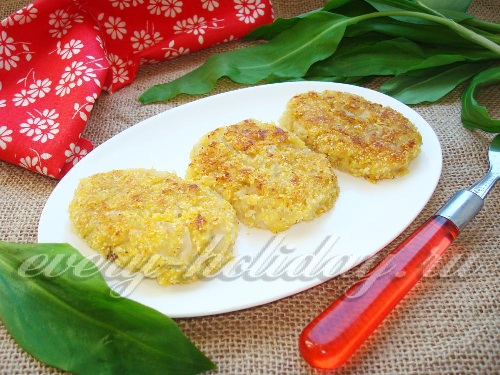 Постные капустные котлеты с манкой рецепт