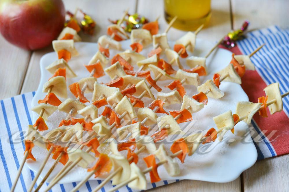пироги из моркови и яблок