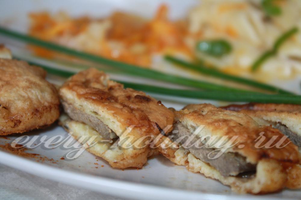 Говяжья печень в кляре рецепт пошагово