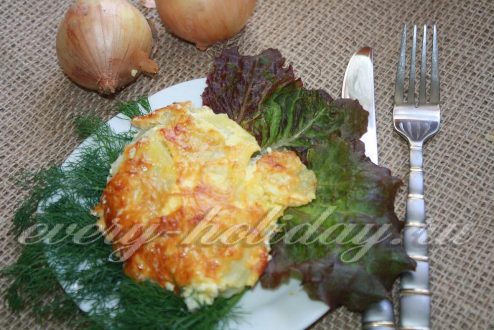 Картофель по-французски с фаршем: пошаговый рецепт с фото 90