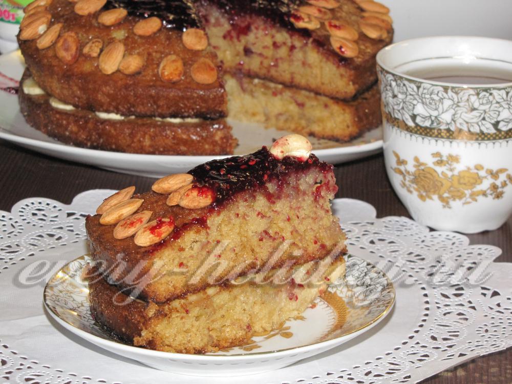 Сладкий торт из кабачков рецепт с фото в духовке
