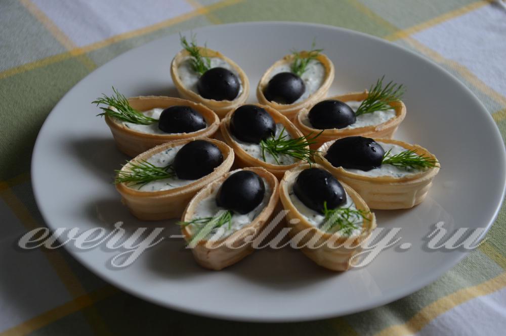 Приготовить тарталетки на праздничный стол рецепты