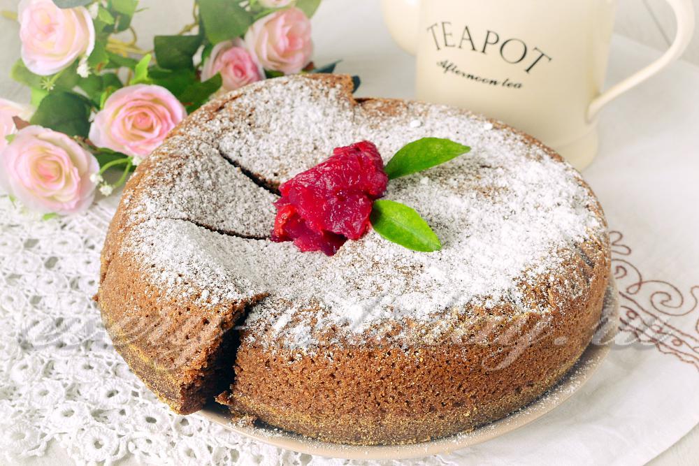 бисквит шоколадный в мультиварке на сметане рецепты