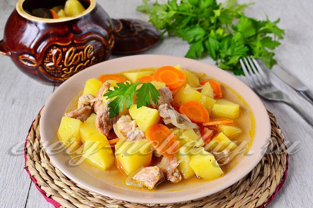 Баклажаны грибы картошка рецепт