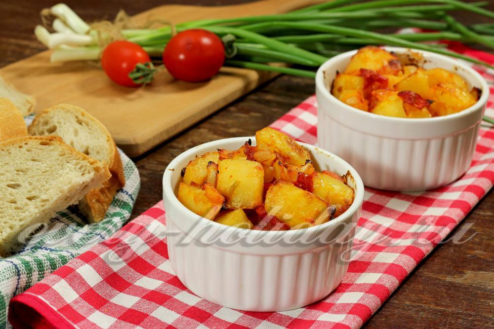 Картофель постные блюдаы