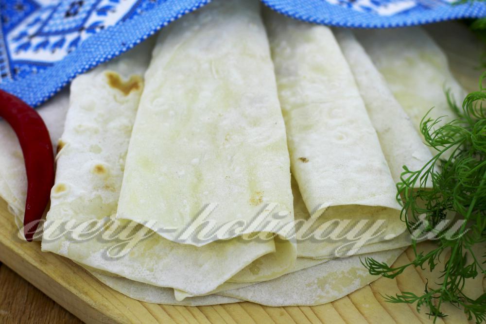 Лаваш рецепт приготовления с пошаговым