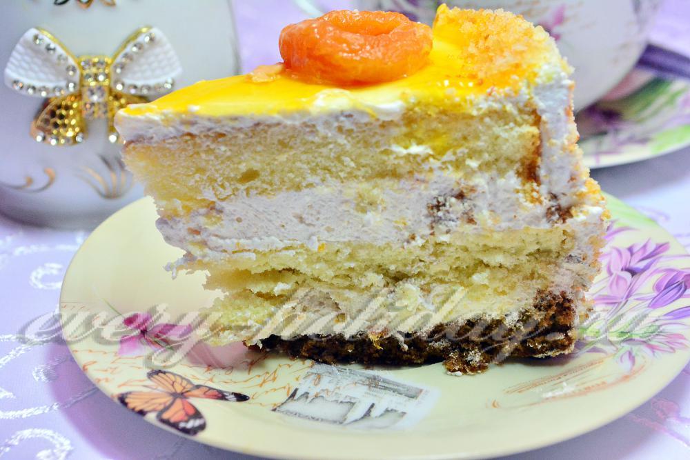 Торт «молочная девочка» (вариант 1) рецепт с фото пошаговый