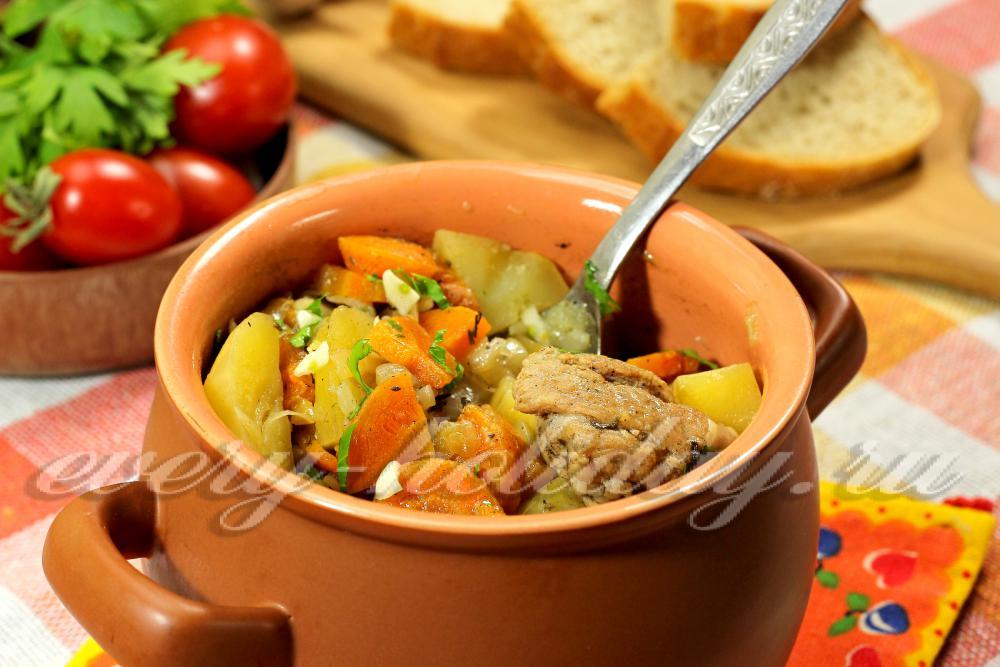 Картошка с грудинкой в духовке рецепт с фото рецепты