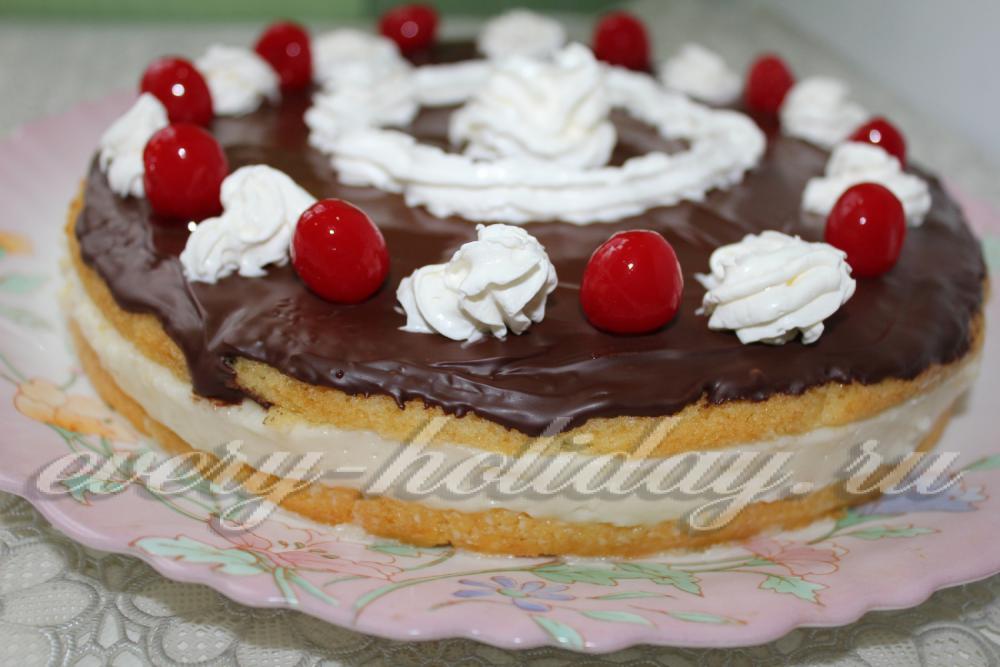 Рецепты нежных тортов с фото