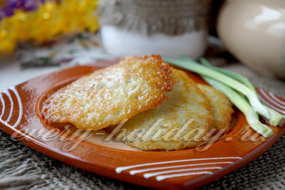 Драники картофельные постные рецепты