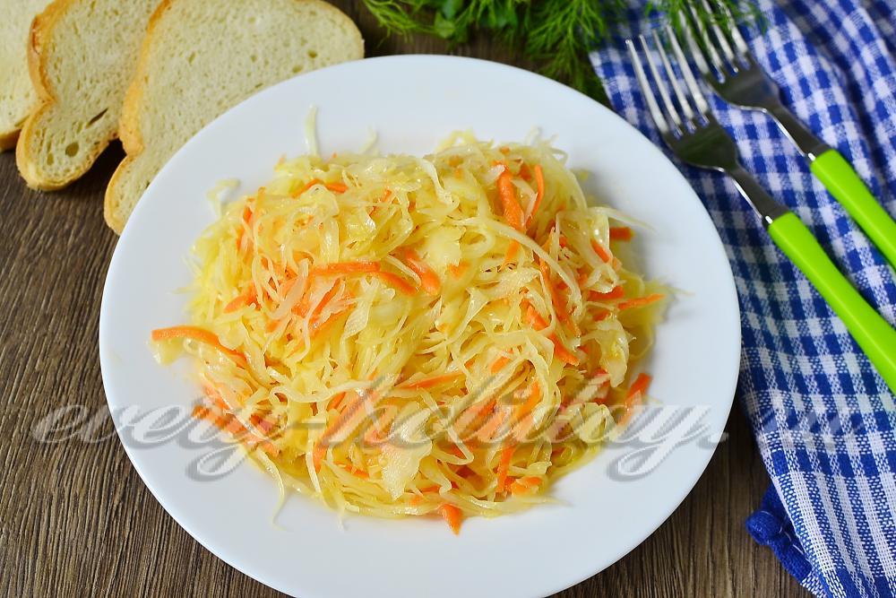 столовый салат из капустыфото