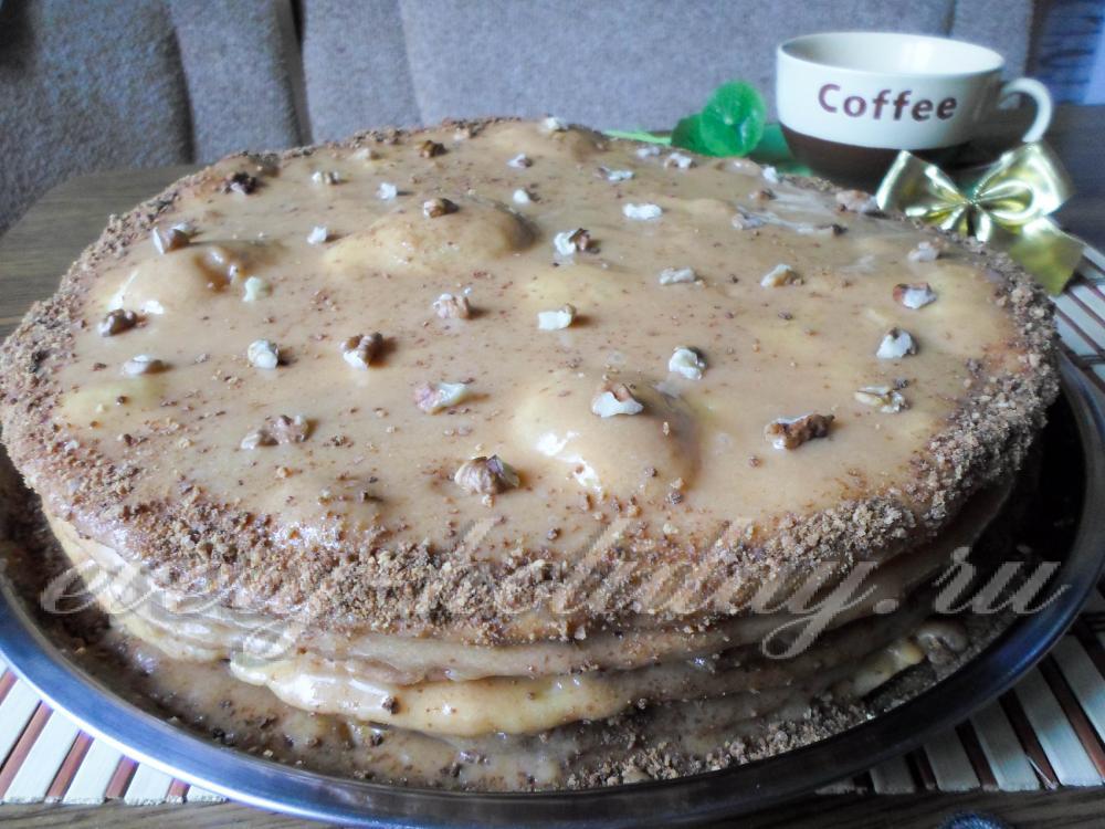 Рецепты песочных тортов в домашних условиях с фото пошагово