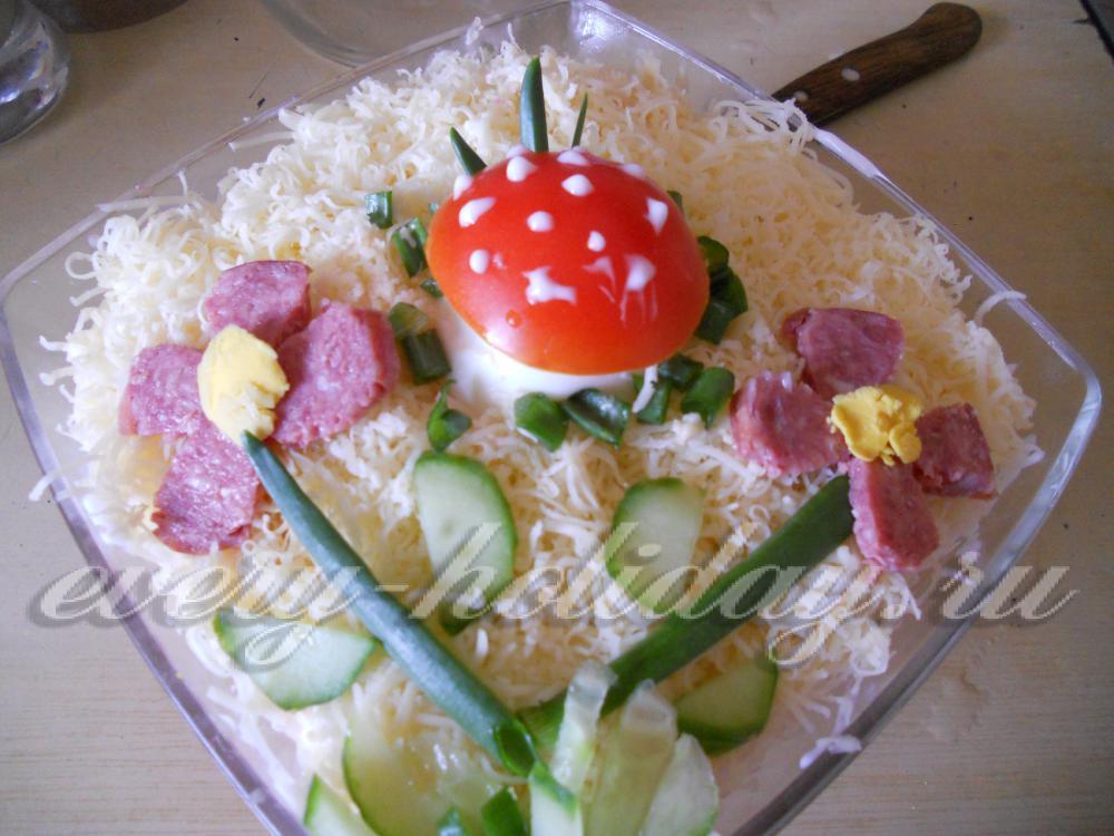 легкие салаты на день рождения с фото