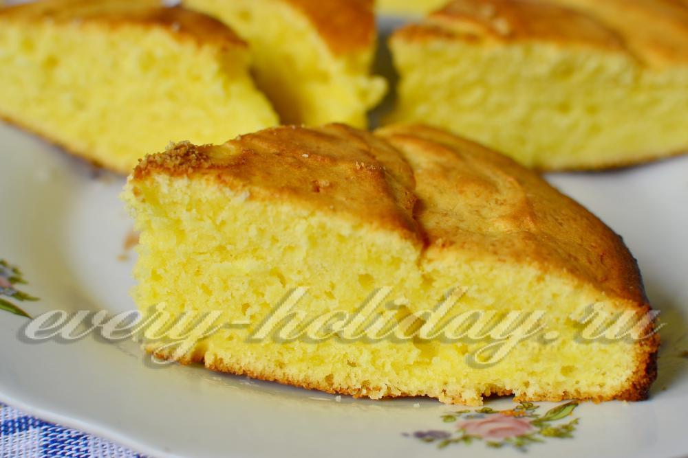 Творожный кекс самый вкусный нежный