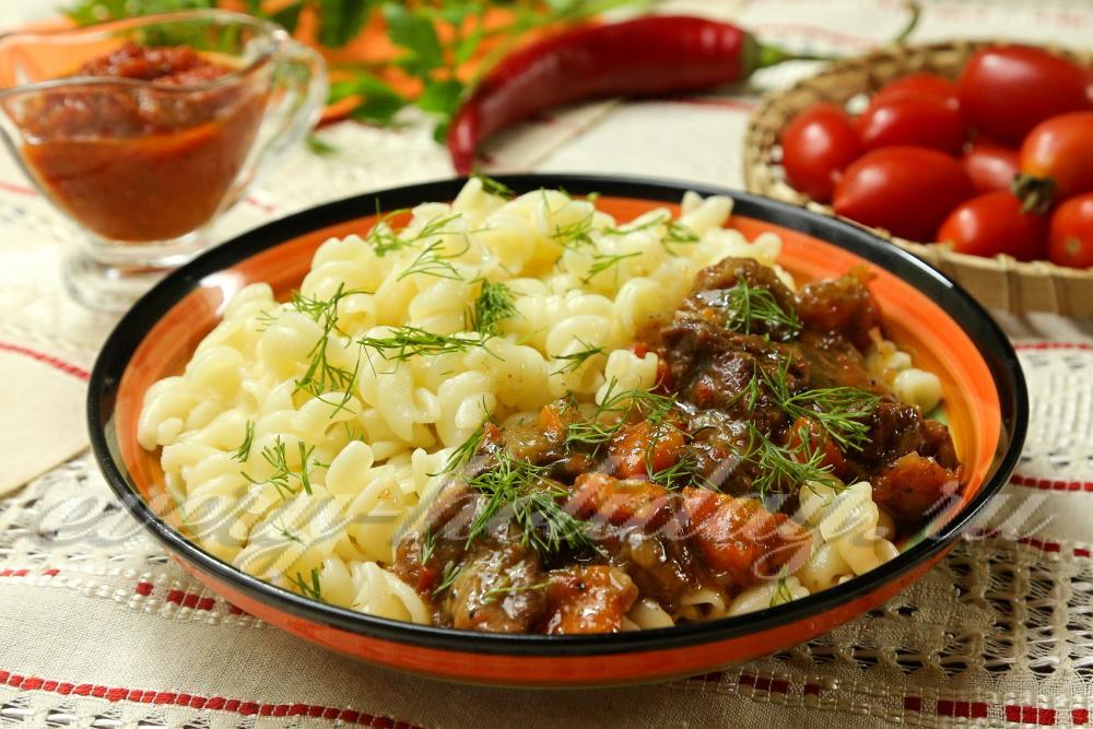 рецепт приготовления говядины с подливкой