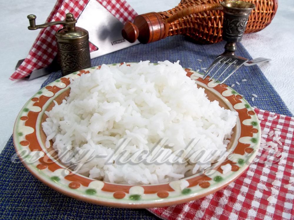 как варить рис по времени 12 минут