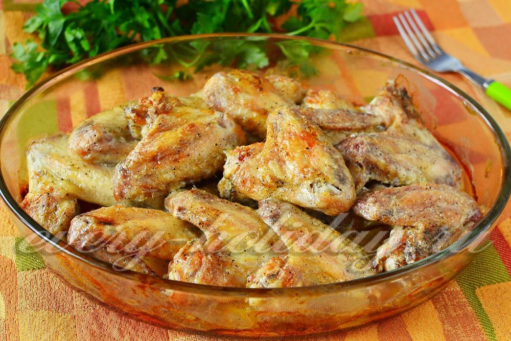 крылышки в рукаве в духовке рецепты с фото