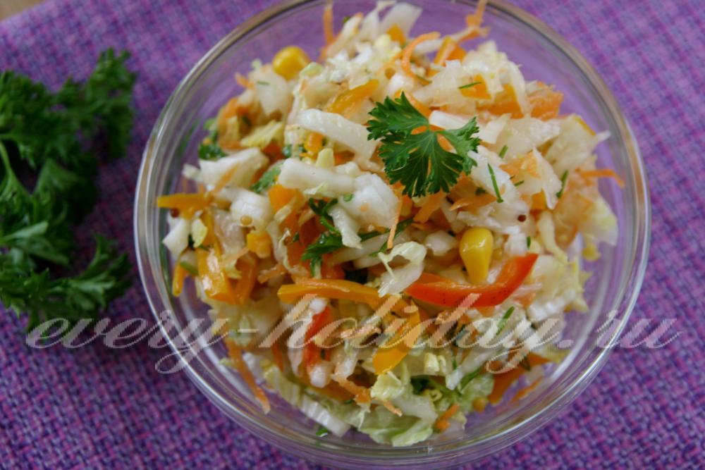 Постные салаты на день рождения простые и вкусные рецепты