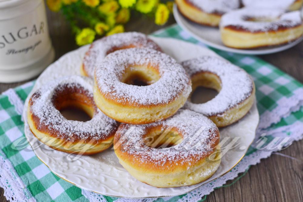 Пончики рецепт классический пошаговый с фото