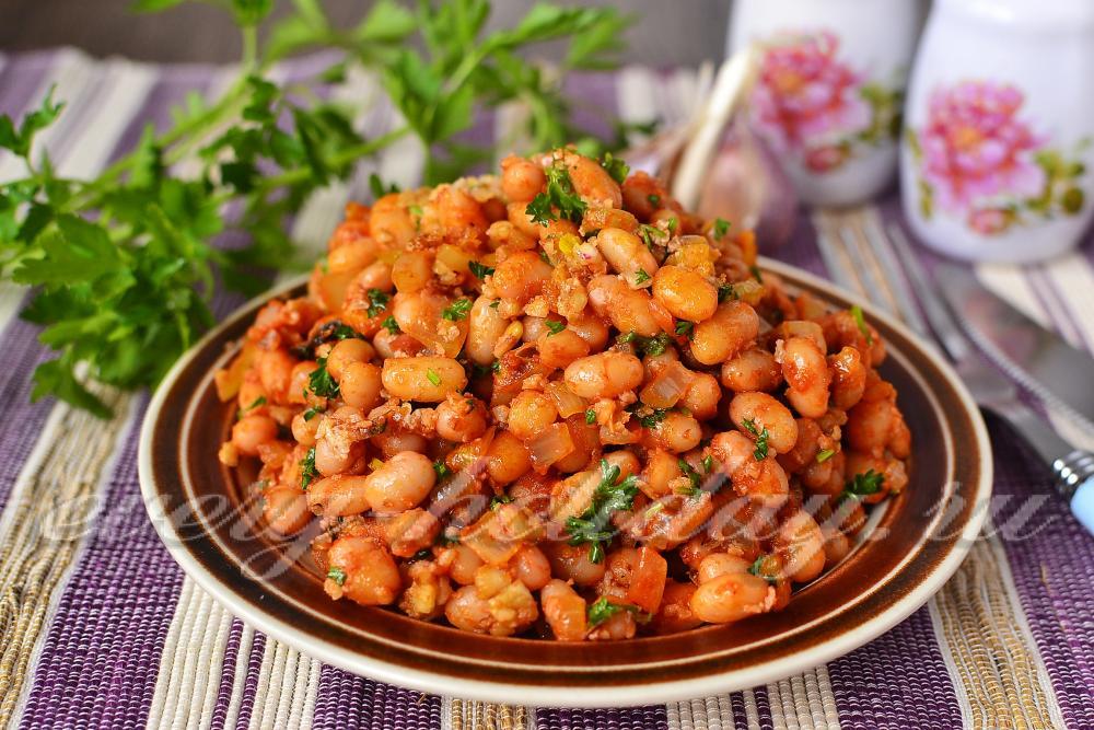 Салат лобио из фасоли рецепты простые и вкусные