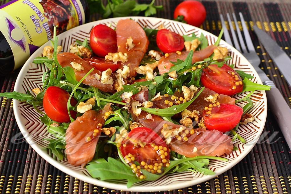 салат с руколой рецепт с фото очень вкусный с