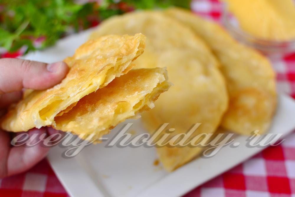 Чебуреки с брынзой рецепт с фото пошаговый