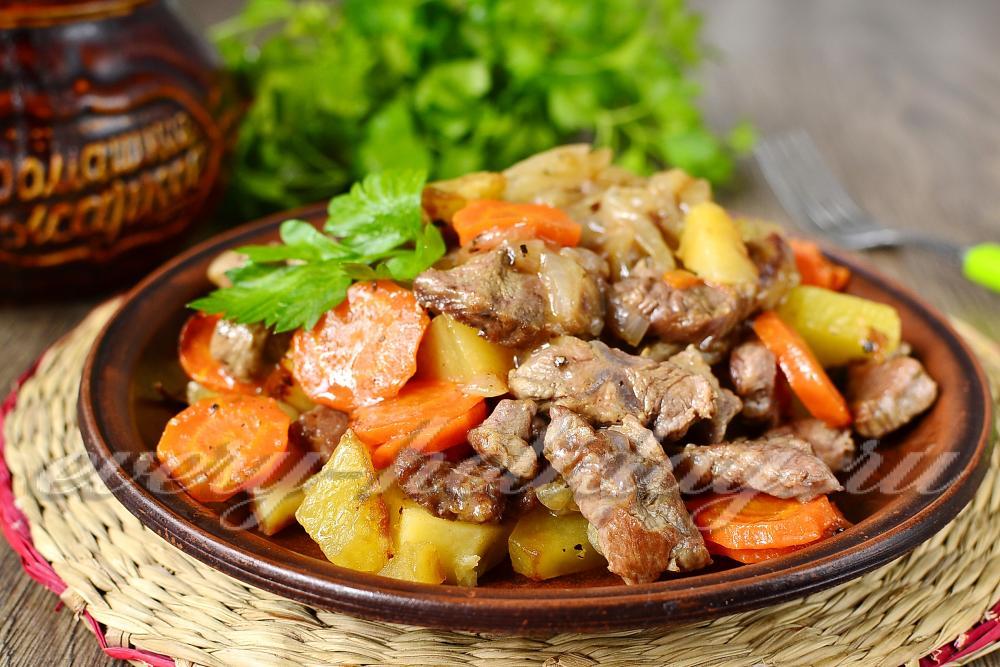 Рецепт пирога на кефире с мясом в духовке с пошаговым фото рецептом