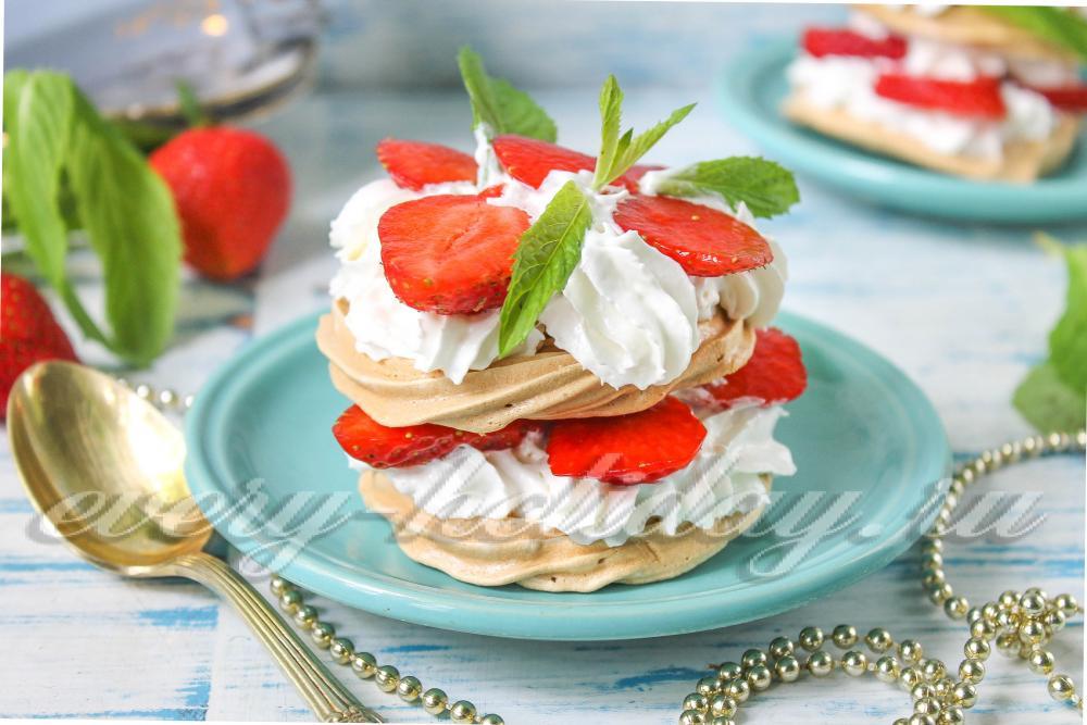 Десерт павлова классический рецепт пошагово милана 149