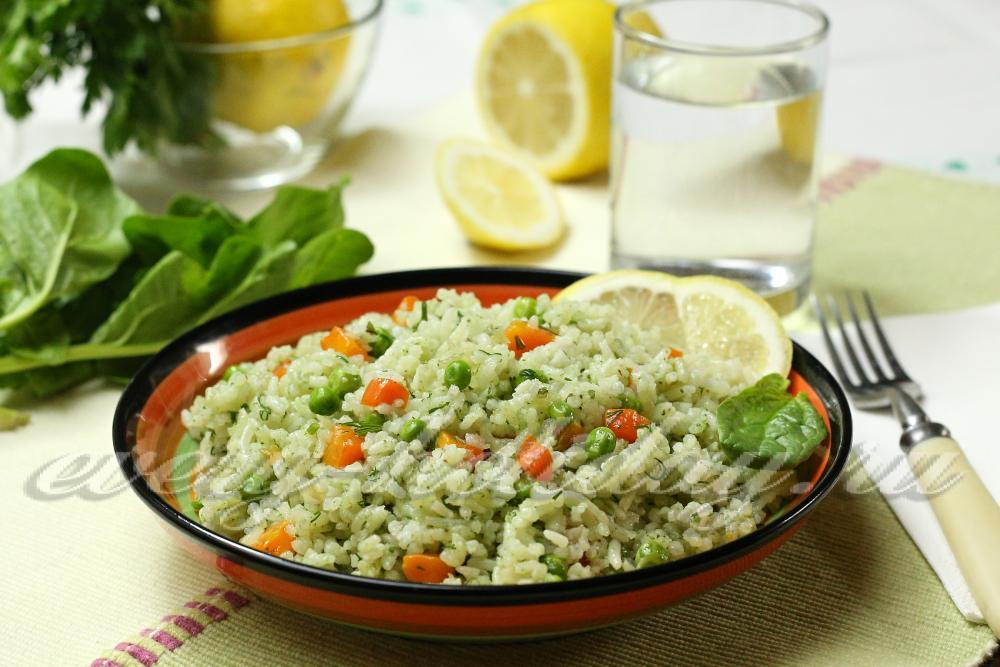 рассыпчатый рис в мультиварке рецепт с фото пошагово в
